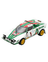 Lancia Stratos HF No.1 Winner (Rally Monte Carlo 1977) Resin Model Car