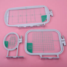 3pcs/Set Embroidery Cross Stitch Hoops for Brother SE350 SE400 PE500 Machine