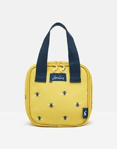 Joules Home Lunch Bag - Gold Bees - One Size