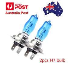 1 Pair 12V H7 55W Xenon White 6000k Halogen Car Head Light Lamp Globes Bulbs AU