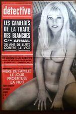 Détective 17/5/1973; Les camelots de la traite des blanches/ Mère prostituée