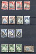 Bermuda 1939-52 KG VI selection, good/fine used