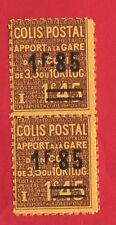 colis postaux N°:119- Neuf**- PAIRE- de qualité neuf ** ! CV :38 €