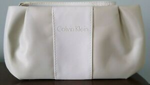 Small travel makeup bag by Calvin Klein