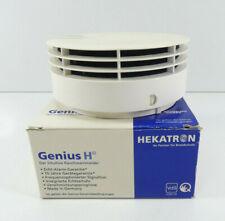 HEKATRON Genius H Rauchwarnmelder | Polarweiß | 10 Jahres Batterie