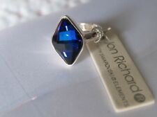 BERMUDA BLUE,  STRETCH RING - BRAND NEW WITH TAG AND ORGANZA BAG
