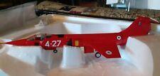 "franklin mint aircraft B11B285 F-104G STARFIGHTER ""RED SPECIAL"""