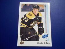 2017-18 UPPER DECK COLLECTOR CARD SSP ROOKIE CARD #73 - CHARLIE McAVOY