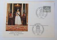 Special Cards Queen Elisabeth Ii.staatsbesuch IN Germany Bonn 1965 (75138)