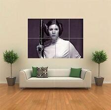 Princess Leia Starwars Giant Wall Art Poster Print