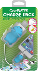 Tzumi 6270 Cord Bytes Cable Protectors Charge Pack Mouse [New ]