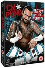 WWE - CM Punk - Best In The World (DVD, 2013, 3-Disc Set)