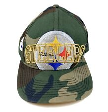 New Era Snapback NFL Pittsburg Steelers Hat Salute To Service Camouflage
