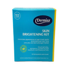 Dermisa Brightening & Lightening Set. Whitening Soap Bar (3 Oz) & Cream (1.5 Oz)
