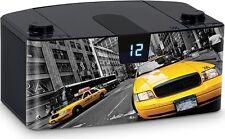 Tragbares Radio CD- MP3- Player USB New York Taxi CD57 Musik Anlage Bigben