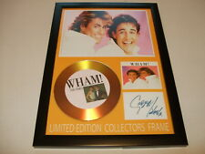 WHAM   SIGNED  GOLD CD  DISC  NEW