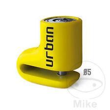 GENERIC / KSR XOR 50 (2T) Urban Security Yellow Brake Disc Lock 5mm pin