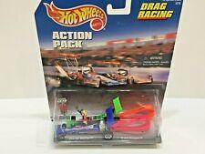 Hot Wheels DRAG RACING 4 Pc Set 1997 Toy