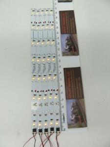 "N / HO - GPS LS7Y  8"" / 7LED Yellow LED Interior Light Strip (Set of 5)"