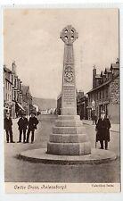 CELTIC CROSS, HELENSBURGH: Dunbartonshire postcard (C18527)