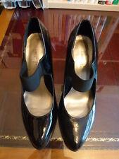 Love Label Size 7 Black Patent Shoes