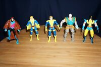 MARVEL TOY BIZ X-MEN MORPH GAMBIT CABLE WOLVERINE BANSHEE X5 ACTION FIGURES