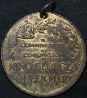 1911 | George V & Mary Coronation Medal | Medals | KM Coins