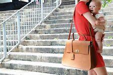 Real Leather Changing Bag /Diaper Bag / baby bag/ mummy bag