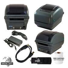 Zebra GK420T Thermal Barcode Printer USB, Serial Parallel, Labels, & Driver