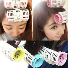 3pcs Professional Magic DIY Hair Bang Curlers Tool Styling Rollers Spiral Circle