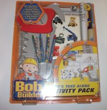 BOB THE BUILDER ACTIVITY PACK COLOURING CRAYONS  POSTER NEW SEALED FREE P&P