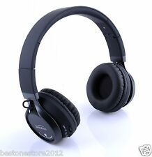 Metal New wireless Hi-Fi Stereo Bluetooth Headphones for Smart cell phone Tablet