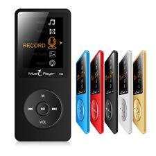 """Lecteur Audio MP3 16 Go Enregistreur Vocale FM 1,8"""" écran Multimédia Baladeur BK"""
