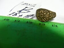 Ancient Byzantine bronze Ring,   15+mm size inside. (B)..
