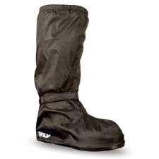 Fly Racing Adult Black Rain WIND Boot Covers Motorcycle Rain Suit Gear ALL SIZES