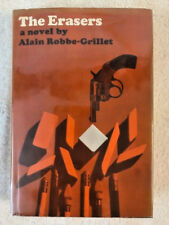 FIRST EDITION ALAIN ROBBE-GRILLET THE ERASERS in dj with letter from Grove Press