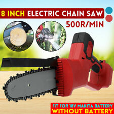 Electric Chainsaw Woodworking Cutting Cordless Garden Tool for Makita Battery