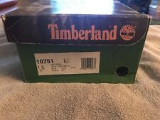 Timberland 6-Inch Premium Waterproof Navy Youth Litte Kids Boots SIZE 1.5