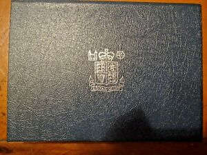 Royal Mint United Kingdom 1984 Proof Coin Collection Cased with Insert