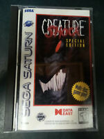 Creature Shock: Special Edition (Sega Saturn, 1996) Complete Tested & Working