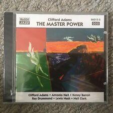Clifford Adams - The Master Power - Naxos Jazz CD 86015-2