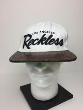 Young & Reckless Hat SnapBack - Reckless Los Angeles Baseball Cap