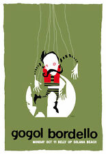 Scrojo Gogol Bordello Belly Up Tavern Solana Beach 2010 Poster Gogol_1010