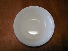 """Oneida Casual Settings American Beauty Soup Cereal Bowl 6"""" Red 1 ea 1 available"""