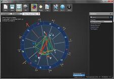 ZODIAC ASTROLOGY SOFTWARE HOROSCOPE SIGNS DAY OF MOON MERCURY JUPITER MARS PC