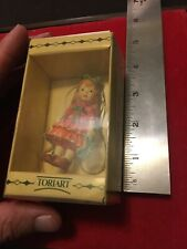 Anri Toriart Figure - A Special Day - Little Girl Flowers & Gift - 3� New In Box