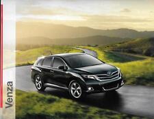 2013 13 Toyota Venza  oiginal sales brochure MINT