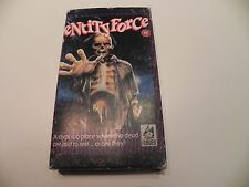 Entity Force - VHS - Cardboard Box - 1982 - Meg Tilly - Rare!
