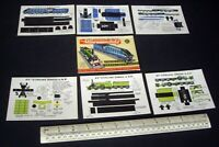 1948 Vintage Original Micromodels 1/6d Set HM. Stirling Single & LNER A4 Pacific