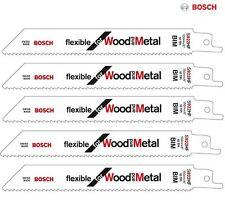 Bosch s922hf De Hojas De Sierra Shark Sable Madera Metal Recipro Pack De 5